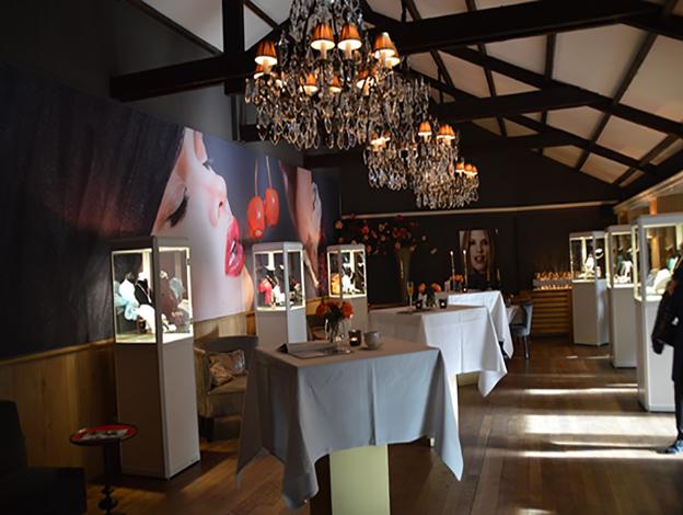Jaarlijkse juwelenshow Robbert Juwelier Den Haag bij De Beukenhof.